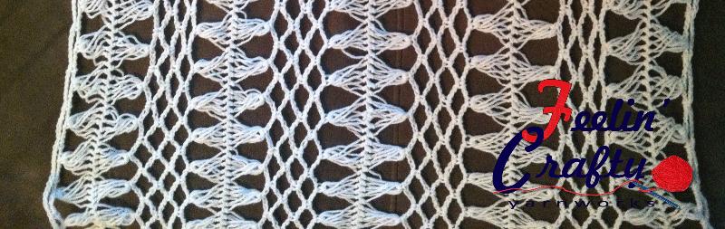 Feelin Hairpin Lace Crochet