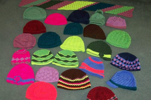 crochet hats for cancer