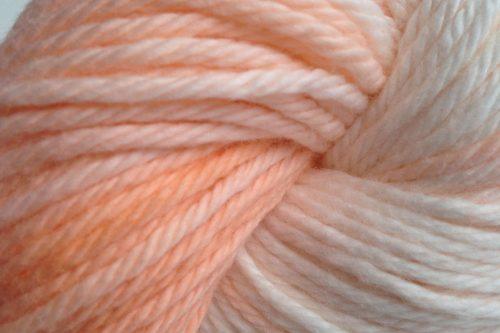 hand dyed yarn close up