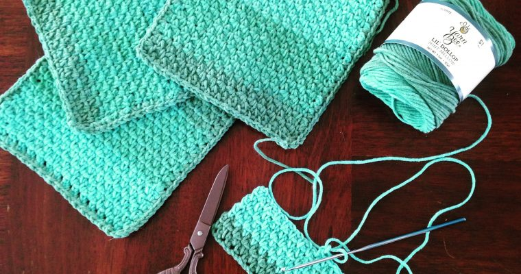 Crochet Cotton Washcloths (pattern)